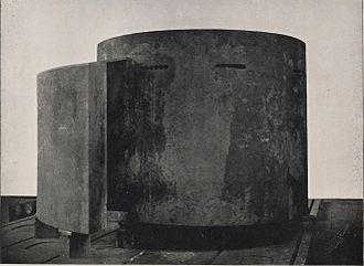 Conning tower - Image: History of the manufacture of armor plate for the United States navy (1899) (14781897532)