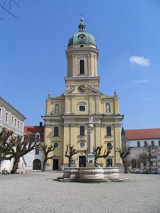 Neuburg an der Donau - Hofkirche