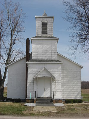 Holden, Ohio - Former Methodist church