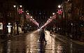 Holiday stars in Gediminas Avenue, Vilnius.jpg