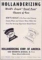Hollanderizing, Cleaners of Furs, New York (advertising 1963).jpg