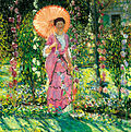 Hollyhocks, Frieseke.jpg