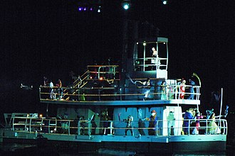 Fantasmic! - Steamboat Willie finale