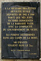 Holocaust memorial tablet, Paris 02, Rue des Jeûneurs.jpg