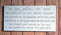 Holy Trinity, Pakaraka, plaque.jpg