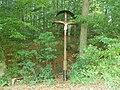 Holzkreuz beim Woellwarthstein.JPG
