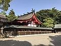 Honden of Munakata Grand Shrine (Hetsu Shrine) 2.jpg