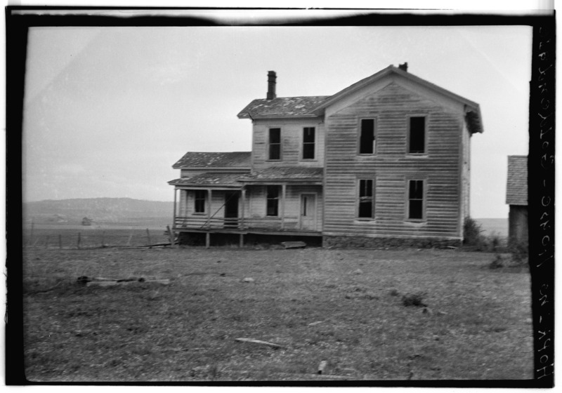 File:Hopkins House and Barn, Goldendale, Klickitat County, WA HABS WASH,20-GOLD.V,3-2.tif