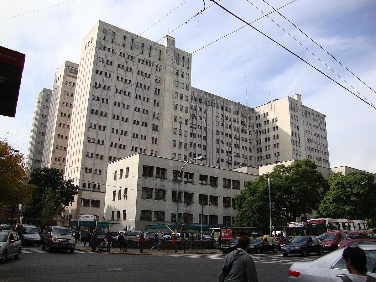 Hospital de cl nicas jos de san mart n wikipedia - Hospital de la paz como llegar ...