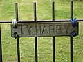 """House name sign for """"Ty Harry"""" cottage - geograph.org.uk - 1065007.jpg"""