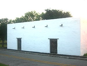 Ignacio Zaragoza - House where General Zaragoza was born in Bahía del Espíritu Santo in where is now Goliad, Texas.