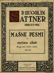 Hugolin Sattner: Mašne pesmi