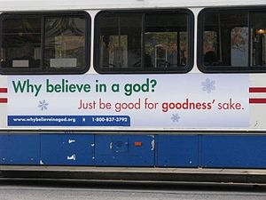 American Humanist Association - 2008 Bus Campaign