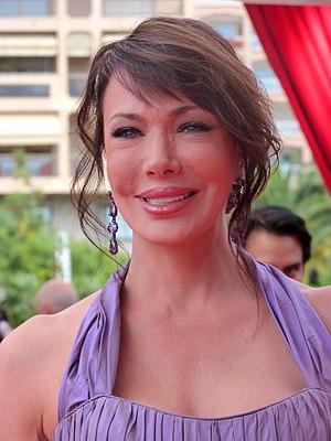 Hunter Tylo - Tylo at the 2012 Monte-Carlo Television Festival