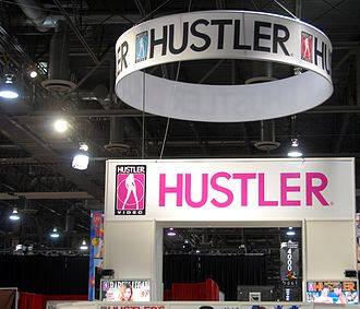 Hustler Video - Hustler Booth at the AVN Adult Entertainment Expo at the Sands Convention Center, Las Vegas, Nevada on January 7, 2010