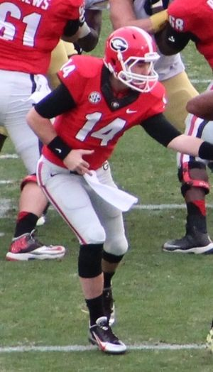 Hutson Mason - Mason with the Georgia Bulldogs