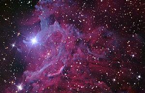 AE Aurigae - Flaming star nebula around AE Aur
