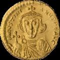 INC-1526-a Солид Юстиниан II ок 692-695 гг. (аверс).png