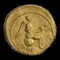 INC-2065-r Золотой квинарий. Тиберий. Ок. 18—19 гг. (реверс).png