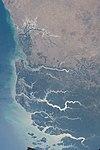 ISS-57 Guinea-Bissau coastal plains and swamps.jpg