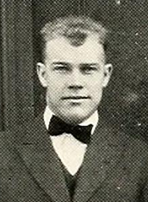 Ira T. Carrithers - Carrithers pictured in The Forester 1916, Lake Forest yearbook