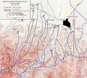 351st Infantry Regiment (United States) - Image: IV Corps Apr 45