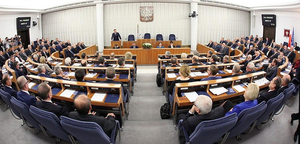 I posiedzenie Senatu IX kadencji 01