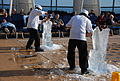 Ice Carving Contest aboard the Celebrity Equinox (6686509035).jpg