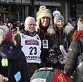 Iditarod Ceremonial Start. Fur Rondy 2019 (Lisa Murkowski and Verne Martell with Jeff King).jpg