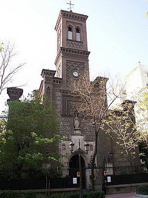 Maria Pia de Saxe-Coburgo e Bragança - The Church of Saint Fermin de los Navarros, in Madrid, where Maria Pia de Saxe-Coburgo e Bragança was baptized.