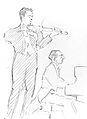 Igor Stravinski and Samuel Dushkin by Hilda Wiener.jpg