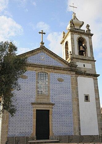 Nogueira, Fraião e Lamaçães - Image: Igreja Nogueira