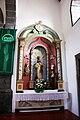 Igreja de Nossa Senhora da Boa Nova, altar lateral 2, Bandeiras, Concelho da Madalena do Pico, ilha do Pico, Açores, Portugal.JPG