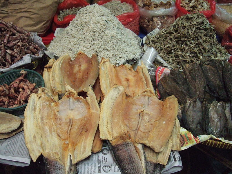 Ikan asin salted fish