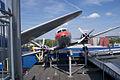 Ilyushin Il-14P Crate Bulgarian Air Transport HeadOn SATM 05June2013 (14600018872).jpg