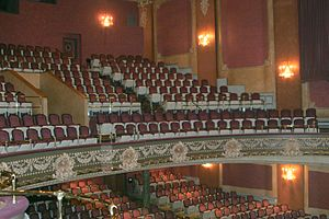 Imperial Theatre, Saint John - View of the balcony