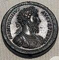 Impero, marc'aurelio, medaglione in bronzo (roma), 173.JPG