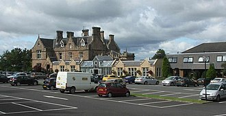 Polmont - Inchyra Grange Hotel, a redevelopment of one of the area's former mansions