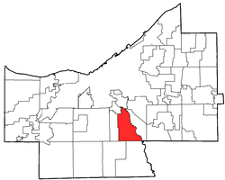 Location of Independence in Cuyahoga County