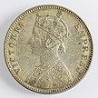 India 1 rupia 1884 Victoria (diritto)