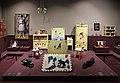 Industria veneziana mobili laccati, stanza di pinocchio (cameretta da bambino), 1928 (wolfosniana) con giocattoli d'epoca della coll. giocattoli antichi roma capitale 01.jpg