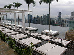Infinity pool at Sands Sky Park, Marina Bay Sands Hotel, Singapore - 20100820.jpg