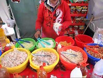 Frito pie - Image: Ingredientes dorilocos