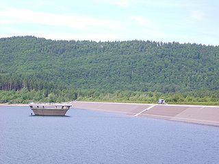 Innerste Dam Embankment dam