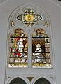 Interieur koor, overzicht glas in loodraam - Maastricht - 20328491 - RCE.jpg