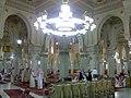 Interior scene Grand Mosque 1, Macca.jpg