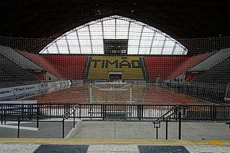 Sport Club Corinthians Paulista (basketball) - Image: Internal view of Ginásio Wlamir Marques (Ginásio do Corinthians), São Paulo, Brazil