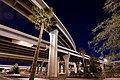 Interstate 10 and Interstate 17 Interchange at Night.2012.jpg