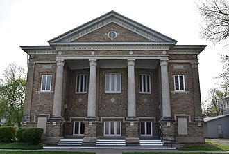 Iowa Yearly Meeting House-College Avenue Friends Church - Image: Iowa Yearly Meeting House