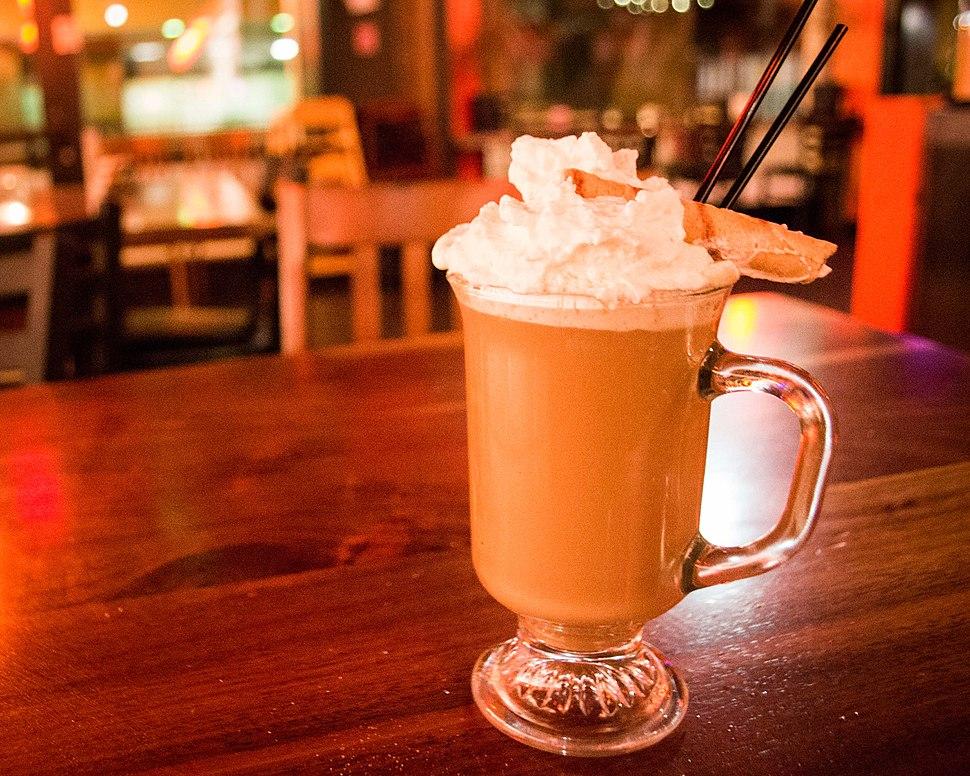 Irish Coffee at Off the Waffle